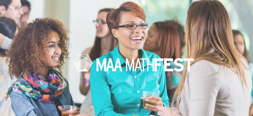 Networking at MAA MathFest