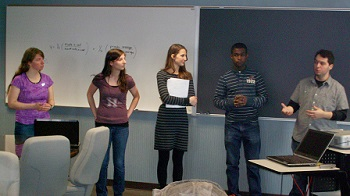 Students present PIC Math research