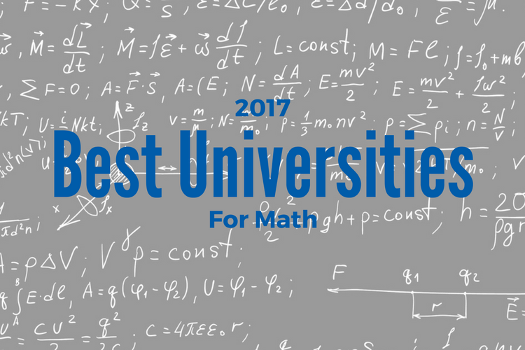 2017 Best Universities for Math