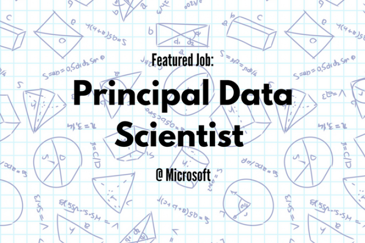 Principal Data Scientist at Microsoft