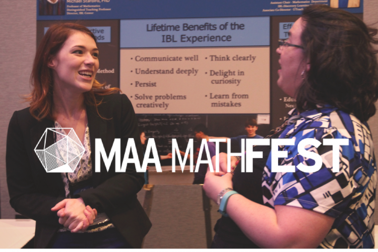 Presenting at MAA MathFest
